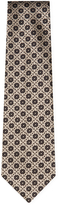 Bottega Veneta Men's Embroidered Geometric Tie