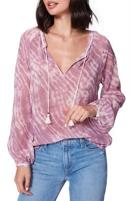 Paige Clarissa Tassel Tie Silk Top