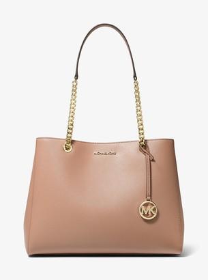 MICHAEL Michael Kors Susannah Large Saffiano Leather Shoulder Bag
