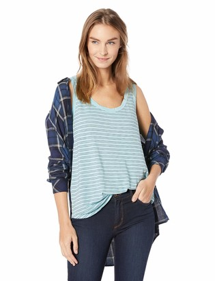 Velvet by Graham & Spencer Women's Lucca Stripe Cotton Knit Tank