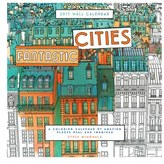 Chronicle Books 'Fantastic Cities' Coloring Book