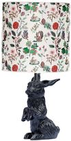 Domestic Baby Bunny Black Lamp