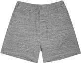 Dsquared2 Grey Mélange Jersey Shorts