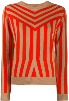 Chinti and Parker Optical Stripe Jumper