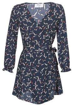 Betty London LOLITA women's Dress in Blue