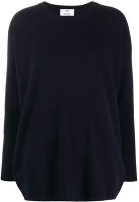 Allude boxy fit fine knit jumper