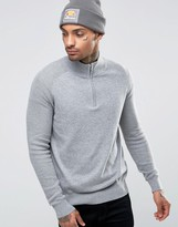 Ellesse Italia Knitted Sweater With Half Zip
