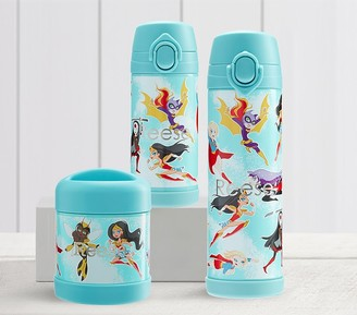Pottery Barn Kids DC Super Hero Girls Glow-in-the-Dark Hot & Cold Container