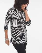 Travelers Classic Wide V-Neck Tunic