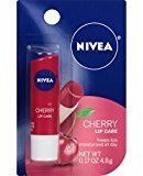 Nivea Cherry Lip Care 0.17 Ounce Carded Pack (Pack of 6)