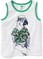Old Navy Parrot-Graphic Tank for Toddler Boys