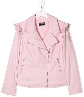 MonnaLisa TEEN faux leather jacket
