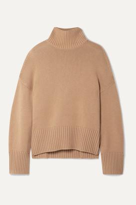 Loro Piana Cashmere Turtleneck Sweater - Tan