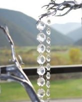 "5 Pieces Diamond Hanging Crystal Garland Wedding Strand - 20"" Length Each Strand"