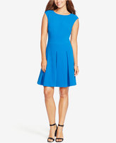 American Living Pleated Jacquard Dress