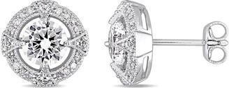 Rina Limor Fine Jewelry Silver 0.16 Ct. Tw. Diamond Earrings