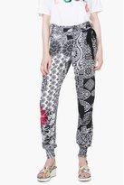Pantalon imprimé femme olass desigual