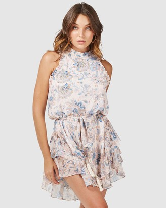 Three of Something Friday Floral Effect Dress