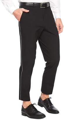 Jf J.Ferrar Cropped Slim Fit Stretch Suit Pants