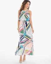 Chico's Multi Geo-Print Maxi Dress
