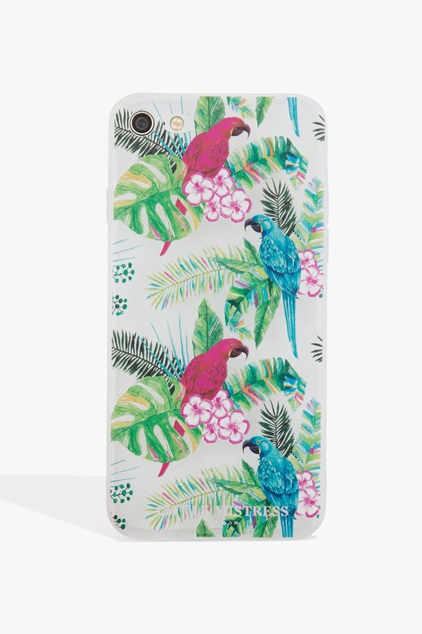 Thumbnail for your product : Little Mistress Accessories Parrot Print Case Iphone 6