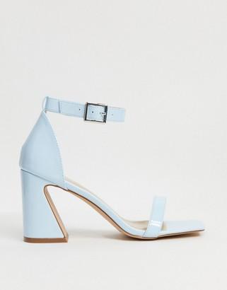 Raid Daisie feature heel sandals in pale blue