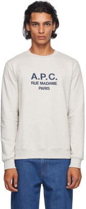 A.P.C. Grey Rufus Sweatshirt