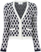 Allude cashmere V-neck cardigan - women - Cashmere - L