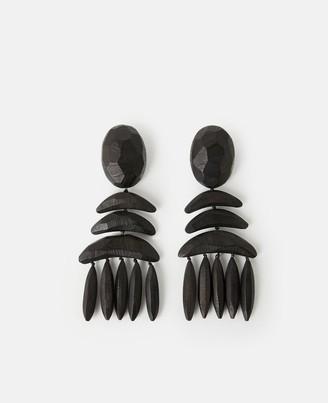 Stella McCartney wooden earrings