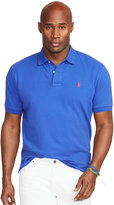 Polo Ralph Lauren Men's Big and Tall Classic-Fit Cotton Mesh Polo Shirt