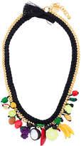 Venessa Arizaga fruit rope necklace