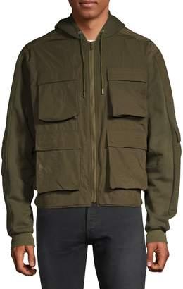 John Elliott Panelled Hooded Jacket