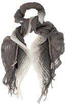 Missoni Open Knit Ruffled Scarf