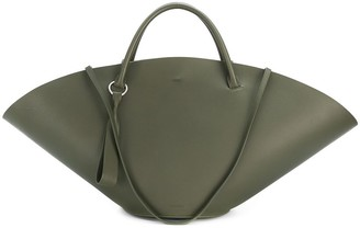Jil Sander Sombrero top-handle bag