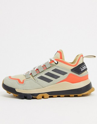 adidas Outdoors urban low hiker shoe in stone