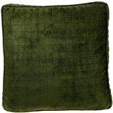 Brentwood Quilted Doeskin Box Pillow, 17-by-17-Inch