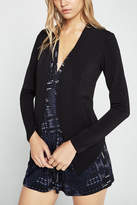 BCBGeneration Welt Pocket Tuxedo Blazer