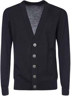 Balmain V-neck Buttoned Cardigan