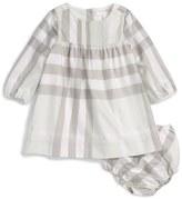 Burberry 'Hanna' Check Dress (Baby Girls)