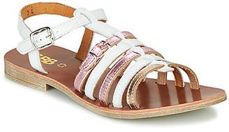 GBB BANGKOK girls's Sandals in White