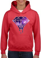 Acacia Galaxy Diamond Unisex Hoodie For Girls and Boys Youth Sweatshirt