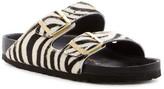 Birkenstock Arizona Exquisite Genuine Calf Hair Classic Footbed Sandal - Narrow Width - Discontinued