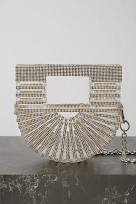 Cult Gaia Ark Nano Crystal-embellished Acrylic Shoulder Bag - Clear