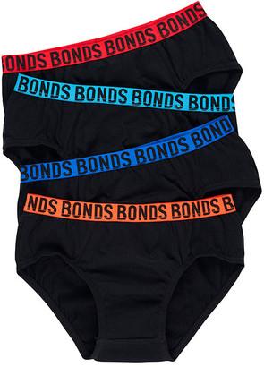 Bonds Boys Fun Pack Brief 4 Pack