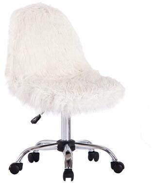 Mercer41 Engler Task Chair Upholstery Color: White