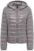 ZSHOW Women's Outwear Hooded Down Coat Light Packable Powder Pillow Down Jackets(,US S/Asian L)