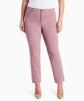 Gloria Vanderbilt Spiced Mauve Amanda Jeans - Plus
