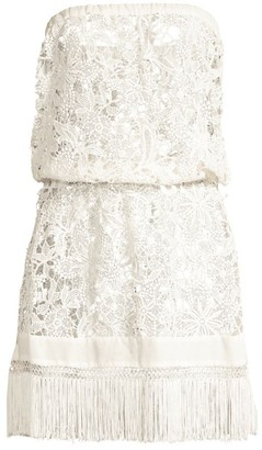 Ramy Brook Delphi Floral Embroidery Cover-Up Dress