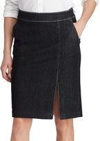 Lauren Ralph Lauren Kaetlyn Denim Pencil Skirt