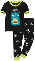 Petit Lem Midnight Snack Monster Pajama - 2-Piece Set (Baby Boys)